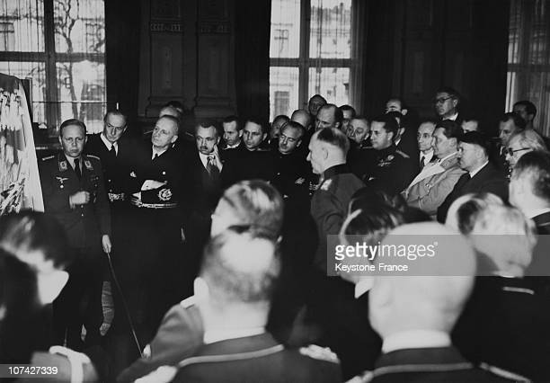 Meeting Of European Statesmen And Officers In Germany On November 28Th 1941