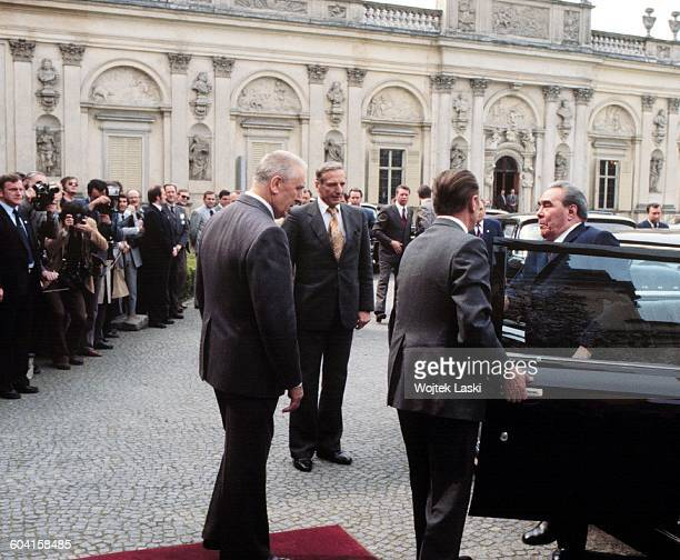 A meeting of French President Valery Giscard d'Estaing and Soviet leader Leonid Brezhnev initiated by the First Secretary of the Polish United...
