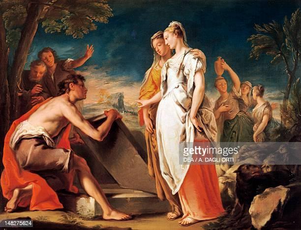 Meeting of Jacob and Rachel, by Nicola Grassi . ; Udine, Musei Civici E Galleria Di Storia E Arte Antica .
