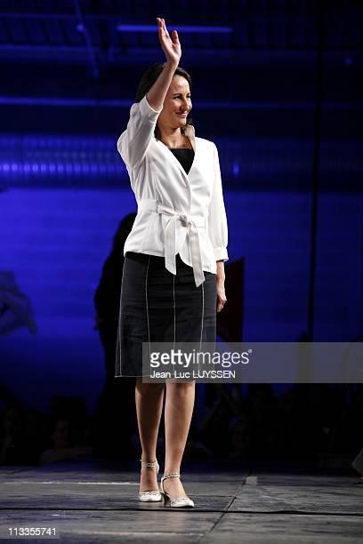 Meeting Of Segolene Royal In Besancon, France On April 12, 2007 -