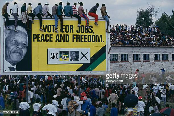 Meeting of the African National Congress in Sharpeville