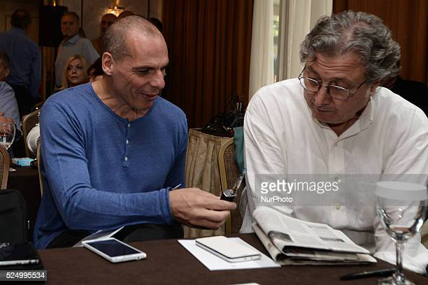 Meeting of the Central Committee of SYRIZA. On May 23, 2015 in Athens In photo: Minister of Finance Yanis Varoufakis