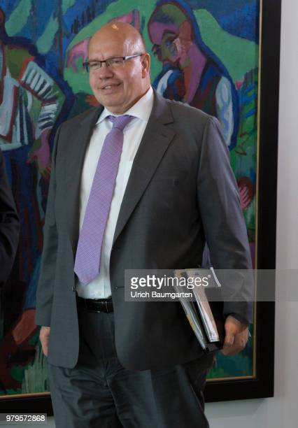 Meeting of the Federal Cabinet in the Federal Chancellery in Berlin Peter Altmaier Federal Minister of Economics in the Federal Cabinet