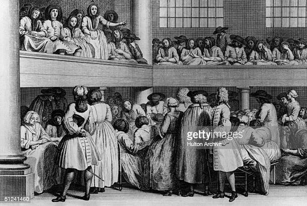 Meeting of the Quakers, or Religious Society of Friends.