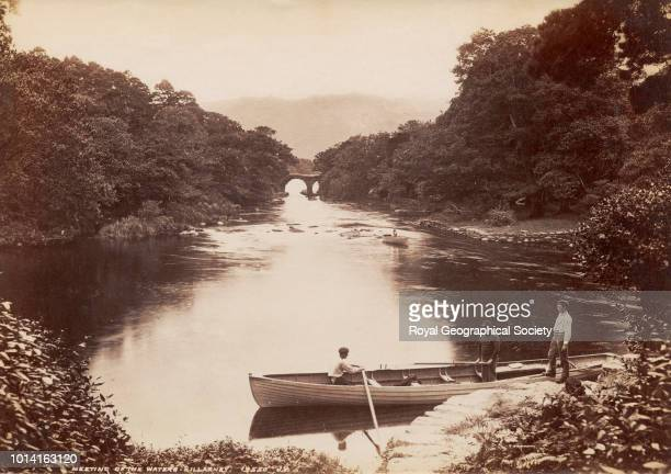 Meeting of the waters Killarney There is no official date for this image possibly taken c 1890 Republic of Ireland 1890