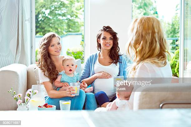 Meeting of young mothers