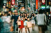 Meeting point Shibuya Crossing in Tokyo