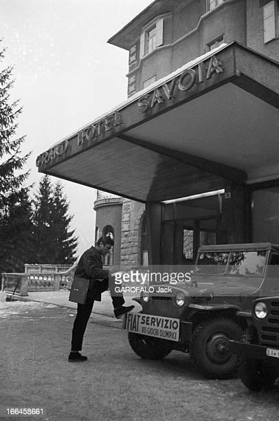 Meeting Raf Vallone Italie 2 février 1956 Raf VALLONE acteur et metteur en scène italien est également un journaliste antifasciste convaincu Ici...