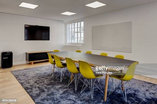 Meeting room Alfred Mews Offices London United Kingdom Architect Cove Burgess Architects 2016