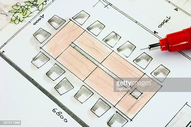 Concept de la salle de réunion