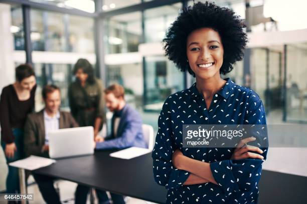 meeting status? 100% productive - black women stock photos and pictures