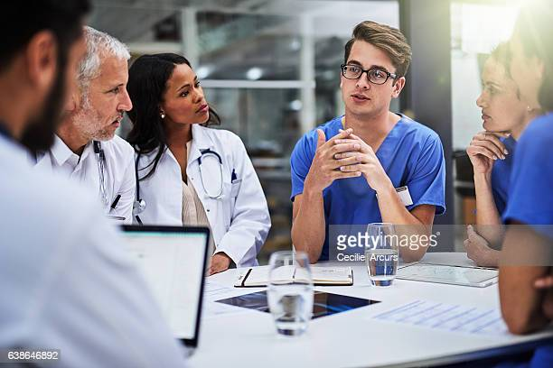 Meeting to make the right diagnosis and course of treatment