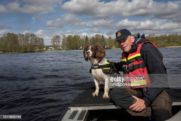 meeting with Johan Esbornjnsson a Swedish police inspector and his dog Ben an 8yearold English springler who during a mission in Denmark found the...