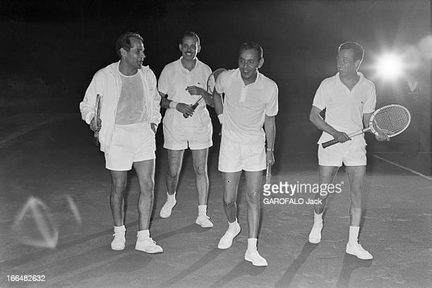 Meeting With King Hassan Ii In Morocco. Maroc, 21 juin 1963, rencontre avec le roi HASSAN II, 22ème monarque de la dynastie alaouite qui règne sur le...