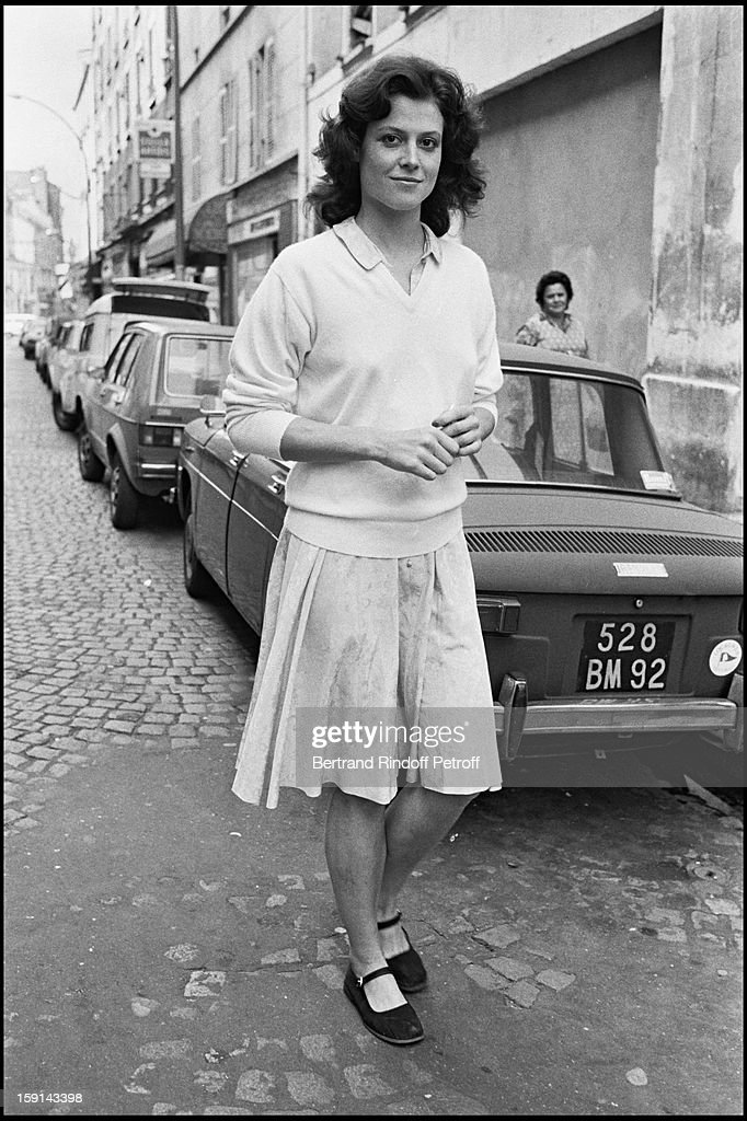 Meeting With Sigourney Weaver In Paris In 1979 : News Photo