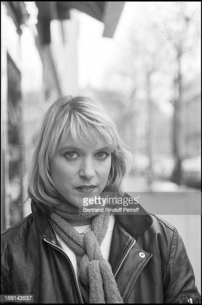 Meeting with singer Joelle Mogensen from pop group Il Etait Une Fois in 1980