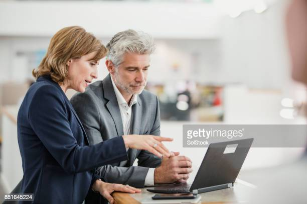 meeting with the manager - business person stock photos and pictures