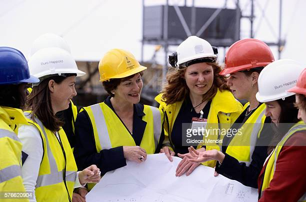 Meeting Women Workers at Millennium Site