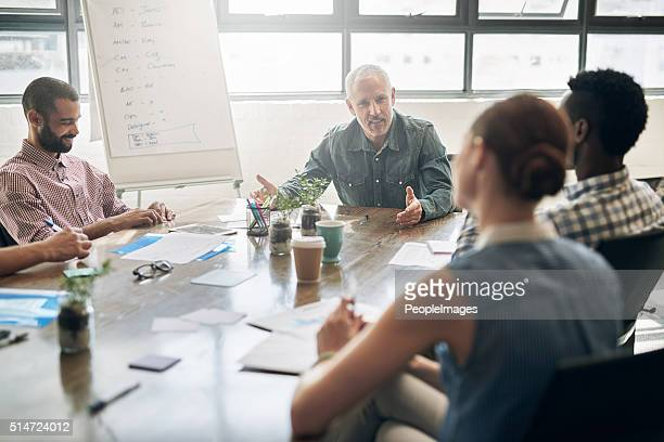 Treffen Entwicklung der Fähigkeiten und Führungsqualitäten