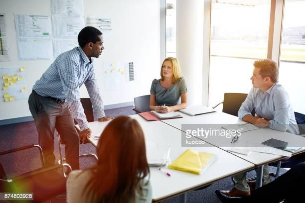 Meetings facilitate communication
