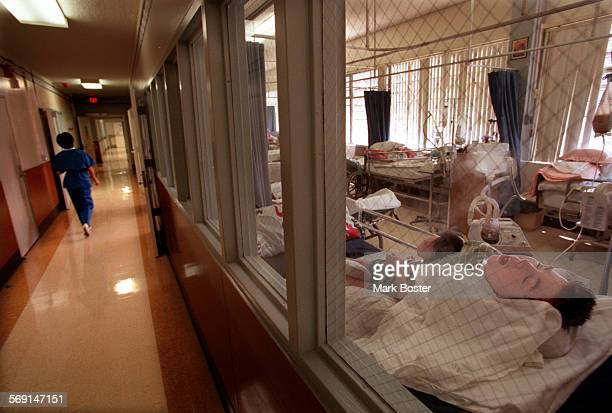 MEFairviewUnit209052898MB–––Life on residential unit 209 at Fairview Developmental Center is quiet particularly for the five patients who are being...