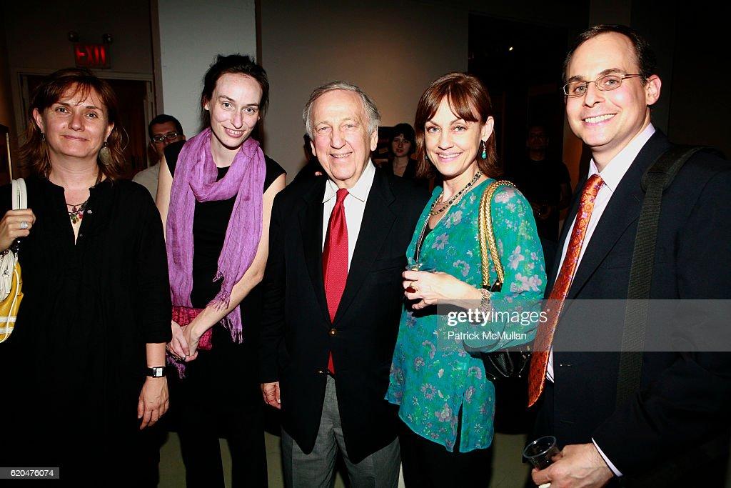 Meg Davis Louise Brooks John Brademas Maura Moynihan And Bill News Photo Getty Images