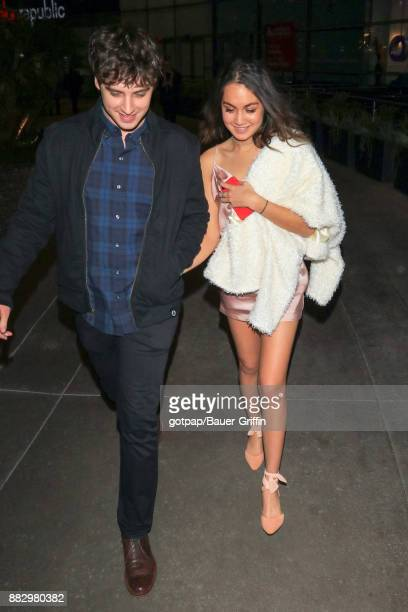 Meg DeLacy and David Lambert are seen on November 29 2017 in Los Angeles California