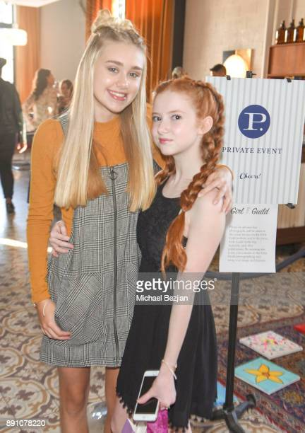 Meg Donnelly and Francesca Capaldi attend Girl Guild Debuts with a Strong Mission and Support of Young Influencers at Palihouse West Hollywood on...