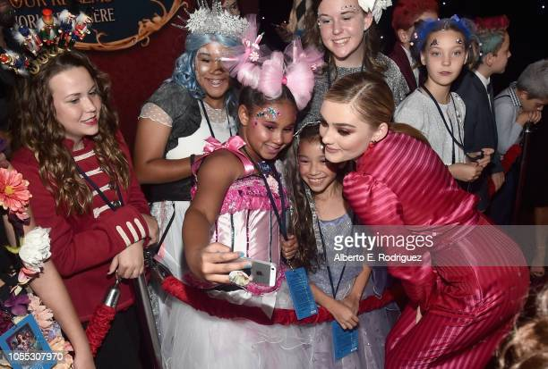 Meg Donnelly arrives at the world premiere of Disney's The Nutcracker and the Four Realms October 29th at Hollywood's El Capitan Theatre MackenzieFoy...