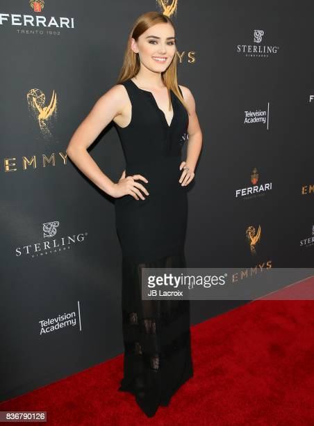 Meg Donnelly attends the Television Academy's Performers Peer Group Celebration on August 22 2017 in Los Angeles California