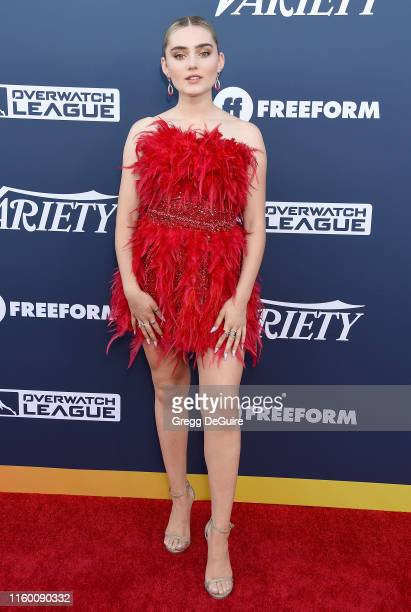 Meg Donnelly attends Variety's Power Of Young Hollywood at The H Club Los Angeles on August 6 2019 in Los Angeles California