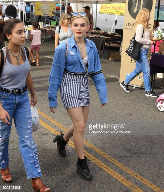 Meg Donnelly is seen on January 7 2018 in Los Angeles CA