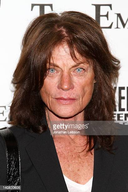 Meg Foster arrives to the The Employer Los Angeles Premiere Arrivals at Regent Showcase Theatre on March 6 2012 in West Hollywood California