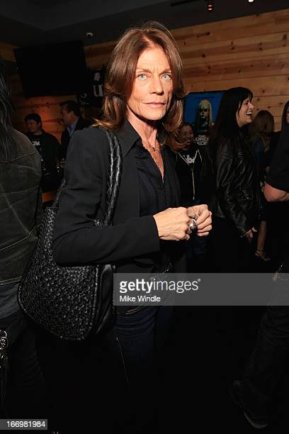 Meg Foster attends the fan screening of Anchor Bay Films' Rob Zombie's The Lords Of Salem after party on April 18 2013 in Burbank California