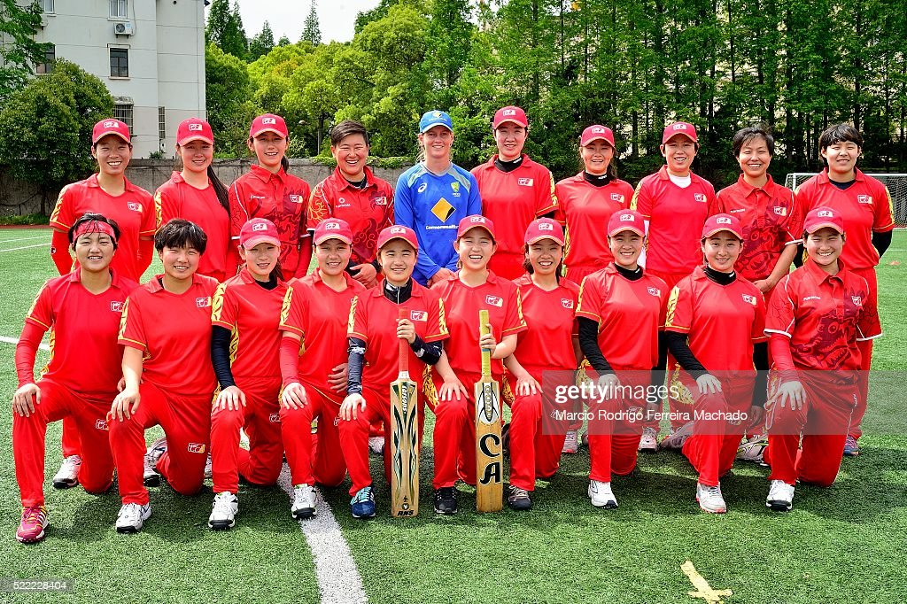 Australian Cricketer Meg Lanning Visits Chinese National Team - Day 1