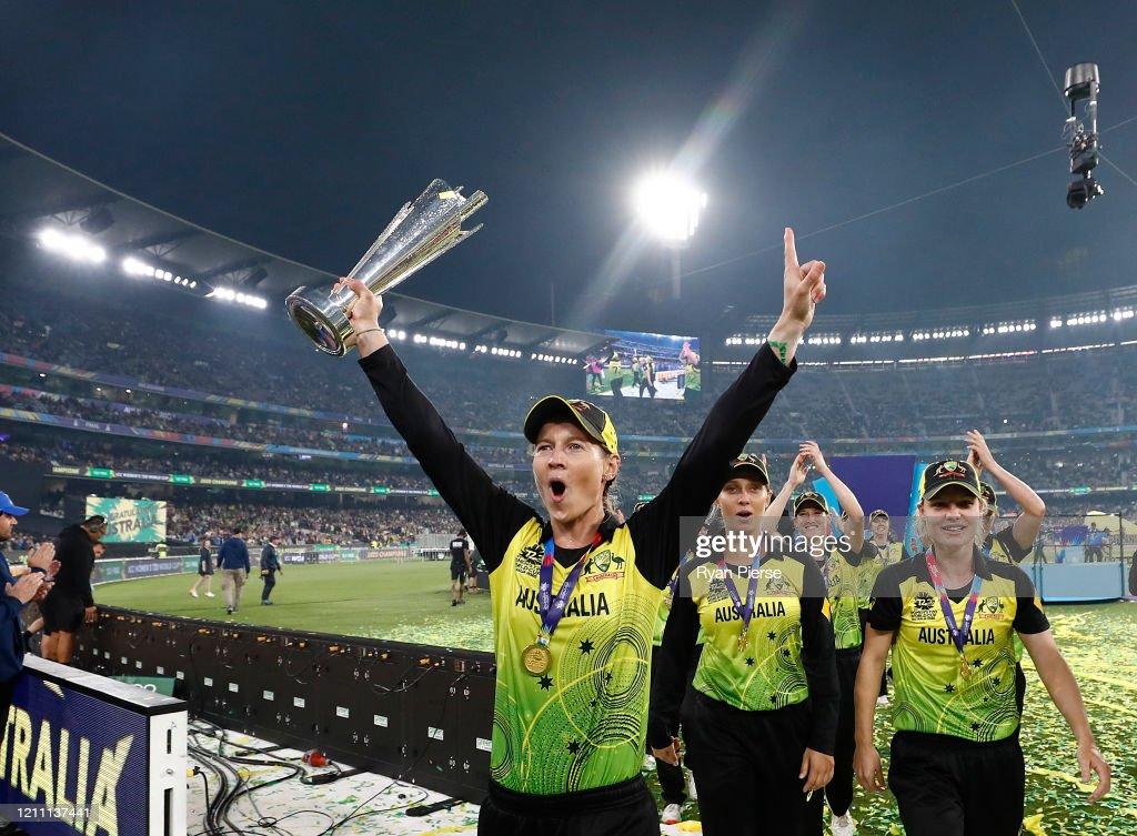 Final - ICC Women's T20 Cricket World Cup: India v Australia : News Photo