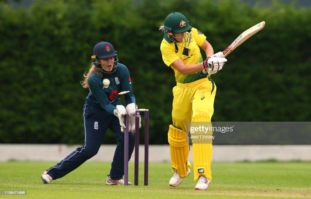 England Women's Academy v Australia Women : News Photo