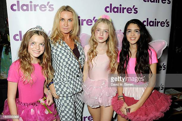 Meg Mathews Anais Gallagher and guests attend Claire's Halloween Party featuring a secret performance by Union J at Sketch on October 22 2013 in...