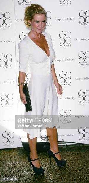 Meg Mathews arrives at the summer party at The Serpentine Gallery on September 9, 2008 in London, England.