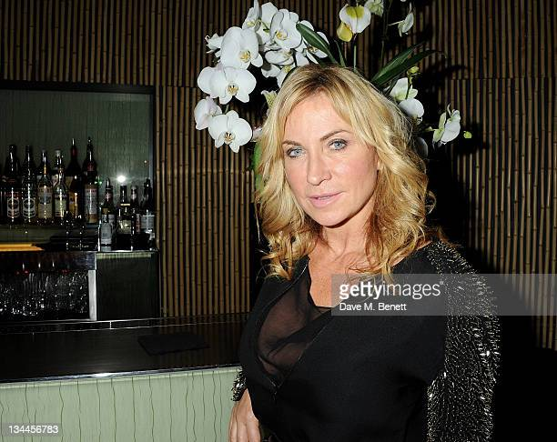 Meg Mathews attends a party to celebrate the launch of her new blog 'Meg Says' at Ni Ju San on December 1 2011 in London England