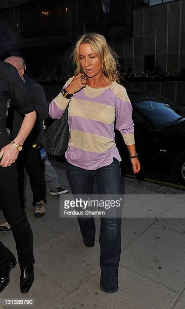 Meg Mathews attends the launch of the Lucy In Disguise collection at Harvey Nichols on May 25 2011 in London England