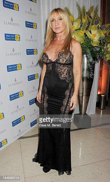 Meg Mathews attends the Marie Curie Cancer Fundraiser hosted by Heather Kerzner at Claridge's Hotel on May 15 2012 in London England
