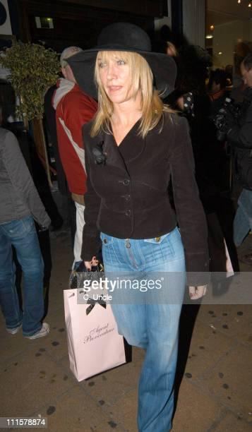 Meg Mathews during Agent Provocateur 10th Anniversary Party at Cafe de Paris in London Great Britain