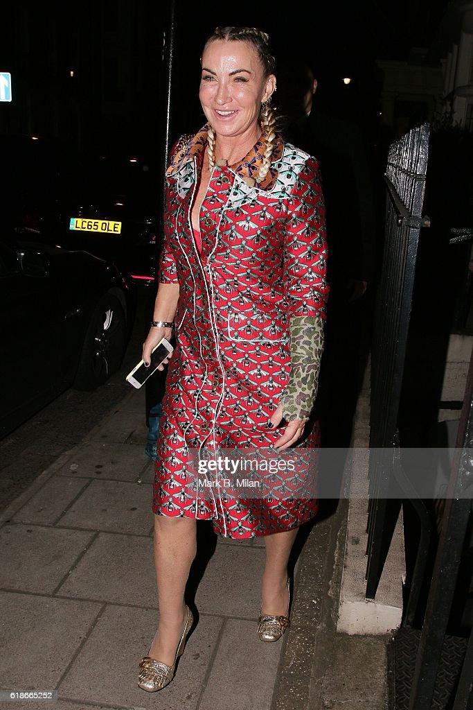 London Celebrity Sightings -  October 27, 2016