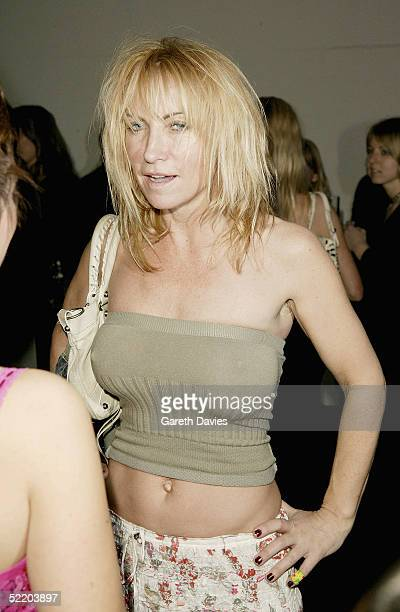 Meg Matthews attends the afterparty following the Elle Style Awards 2005 at the Z Rooms Truman Brewery on February 15 2005 in London The fashion...
