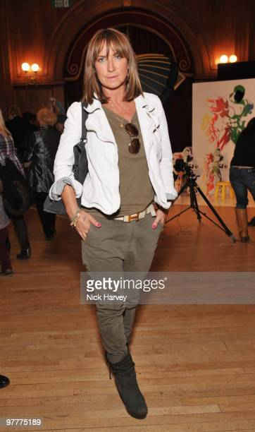Meg Matthews attends the launch of new collection by Stella McCartney for GapKids at Porchester Hall on March 16 2010 in London England