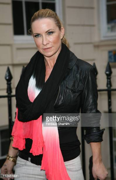 Meg Matthews attends the launch of 'PoliticsAndTheCitycom' at ICA on July 8 2008 in London England