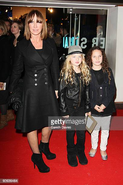 Meg Matthews attends the world premiere of Disney's 'A Christmas Carol' held at the Odeon Leicester Square on November 3 2009 in London England
