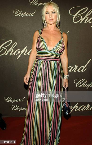 Meg Matthews during 2006 Cannes Film Festival Chopard Trophy Awards Ceremony Arrivals at Carlton Hotel in Cannes France