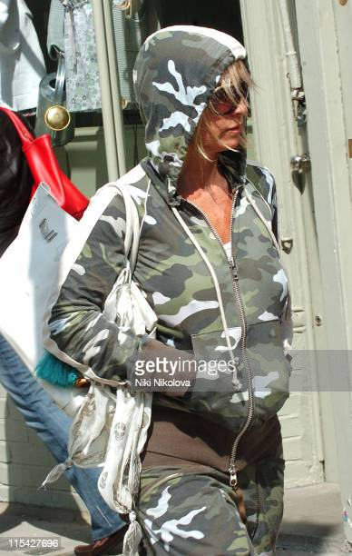 Meg Matthews during Meg Matthews Sighting in London April 28 2006 at Notting Hill Gate in London Great Britain